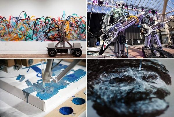 Роботы, которые занимаются искусством
