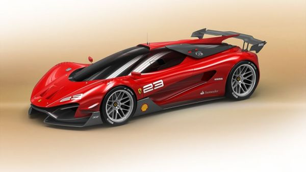 Концепт суперкара Ferrari Xezri Competizione