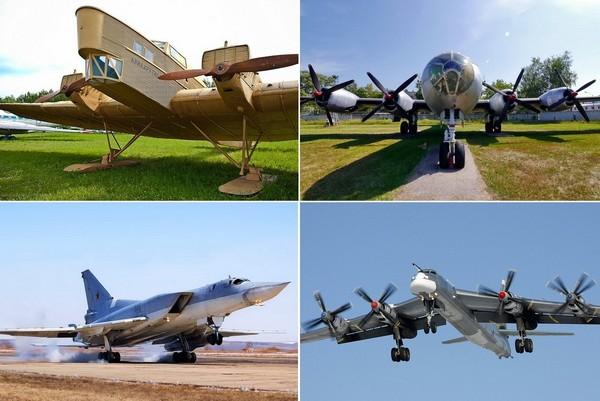 Лучшие самолеты от КБ Туполев