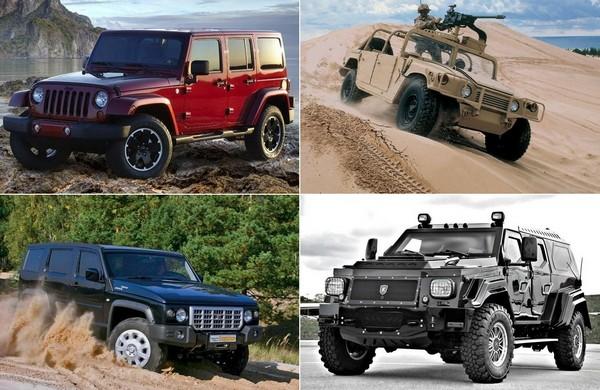 Военные автомобили, которые стали гражданскими