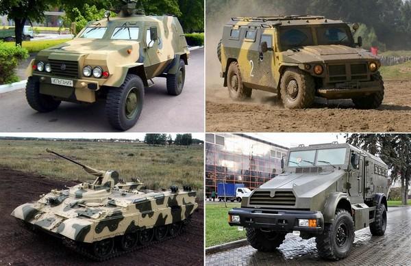 Новая бронетехника постсоветских стран