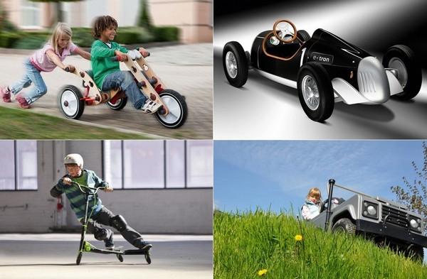 Необычные средства передвижения для детей и подростков
