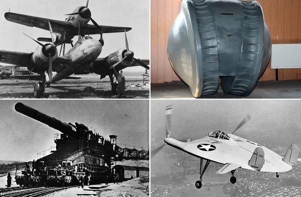 Самое необычные вооружение времен Второй Мировой Войны