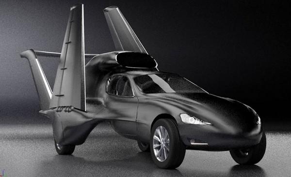 GF7 – автомобиль, который умеет летать