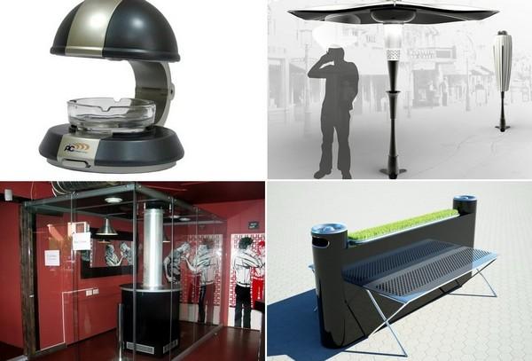 Необычные устройства против табачного дыма