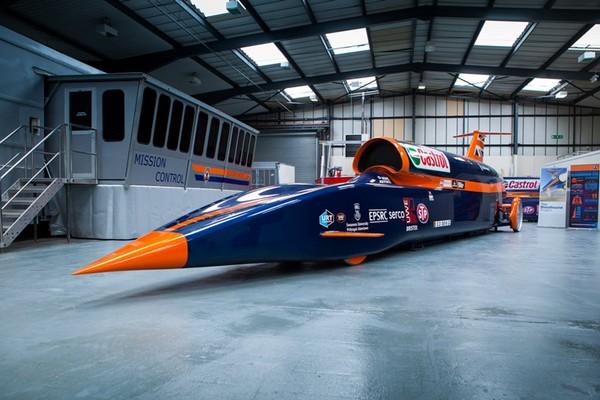 Ракетомобиль Bloodhound SSC - автомобиль, который поставит новый рекорд скорости