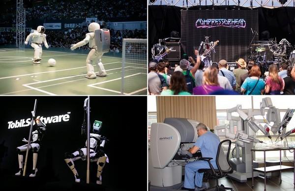 Самые необычные в мире роботы