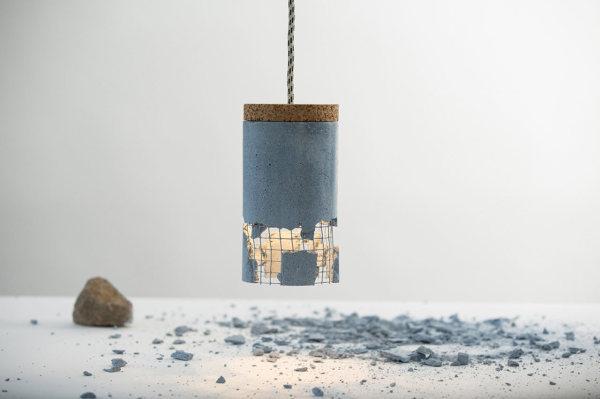 Оригинальный подвесной светильник от Драгос Мотика (Dragos Motica).