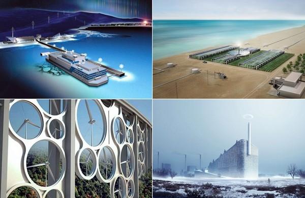 Самые необычные современные электростанции