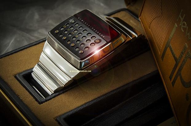 Прототип первых часов с калькулятором от HP