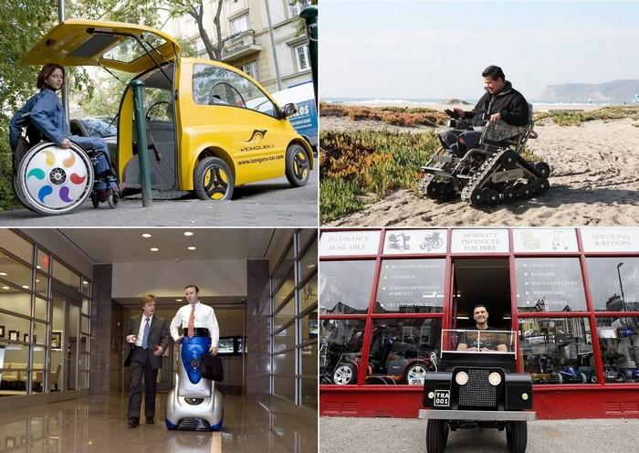 Необычные средства передвижения для инвалидов