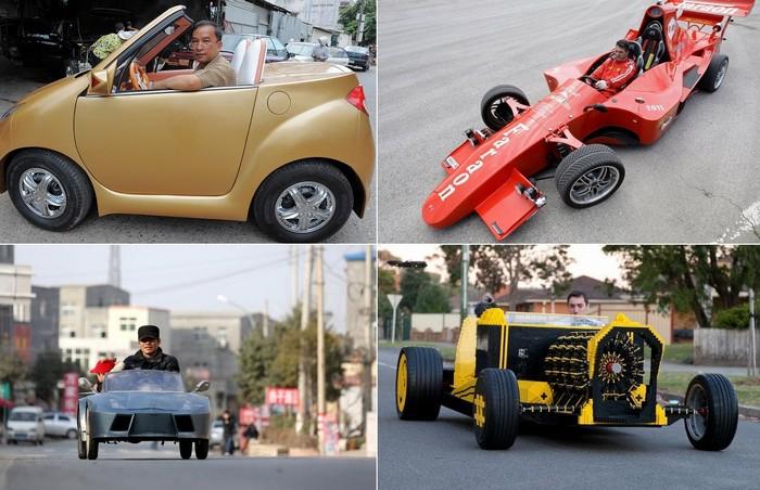 Самые необычные в мире самодельные автомобили