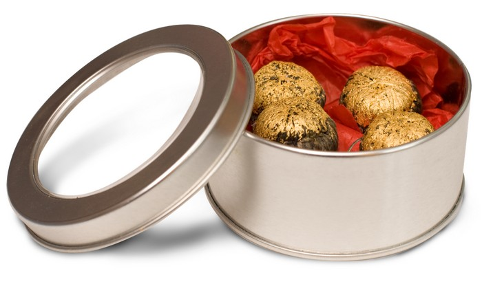 Золотые шоколадные конфеты от DeLafee