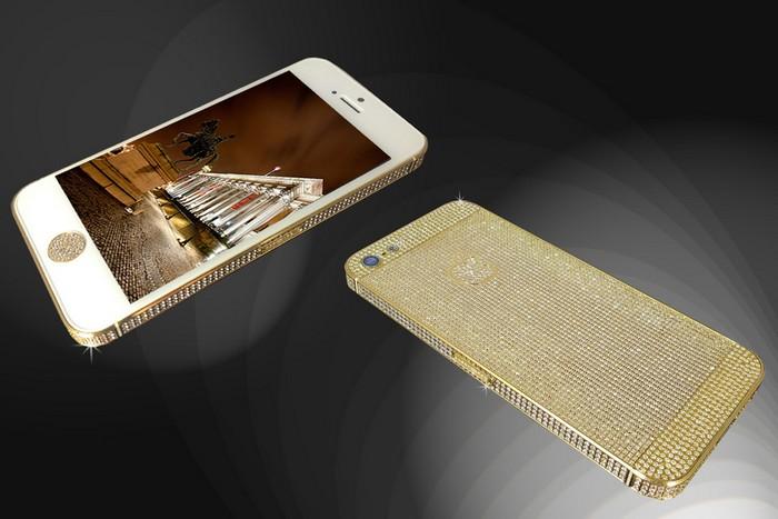 Золотой iPhone 5s от Goldstrike