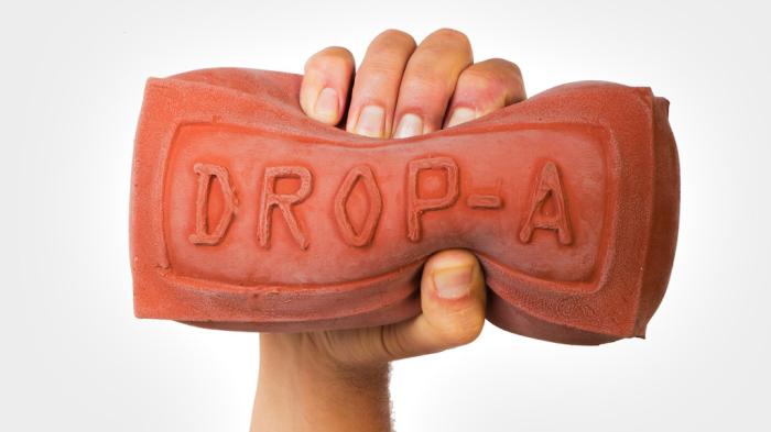 DROP-A-BRICK - кирпич, позволяющий экономить.