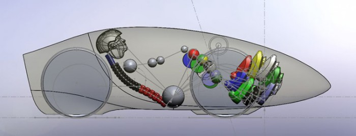 Конструкция велосипеда Eta.
