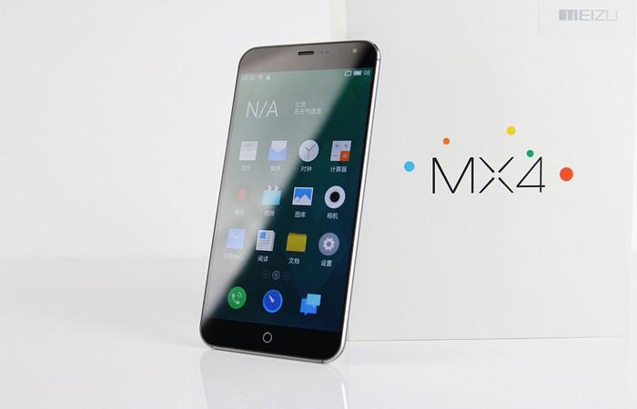 Китайский флагман смартфон Meizu MX4