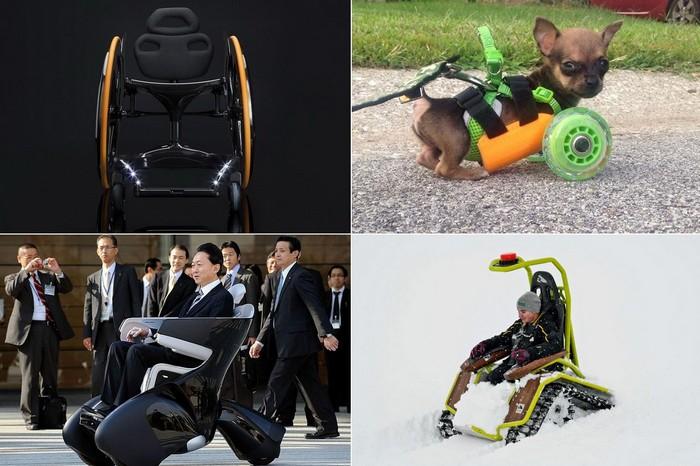 Самые лучшие и необычные инвалидные коляски