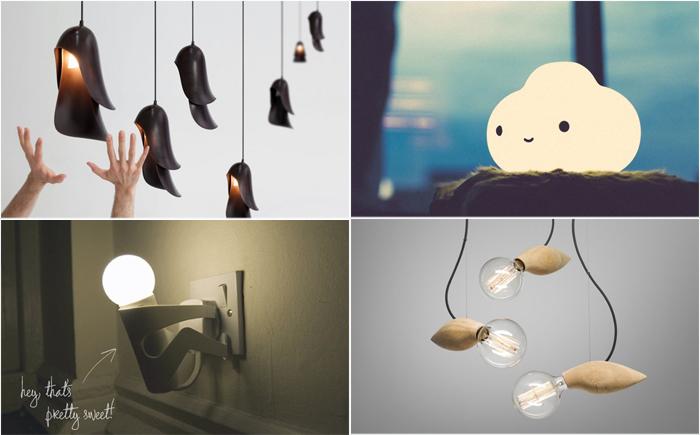 20 самых невероятных ламп, способных зажечь своим дизайном