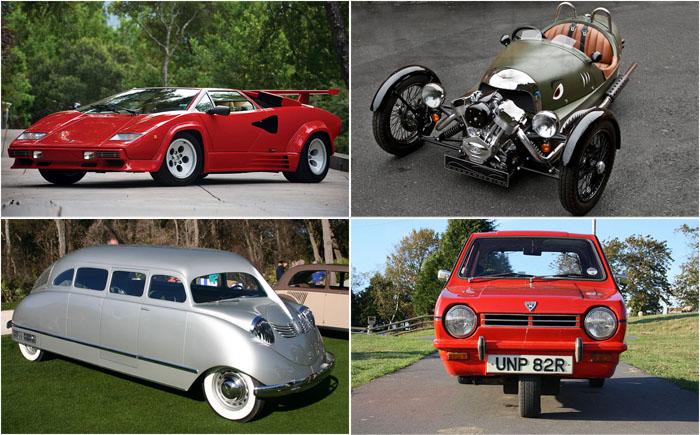 10 замечательных, но необычных автомобилей со странностями