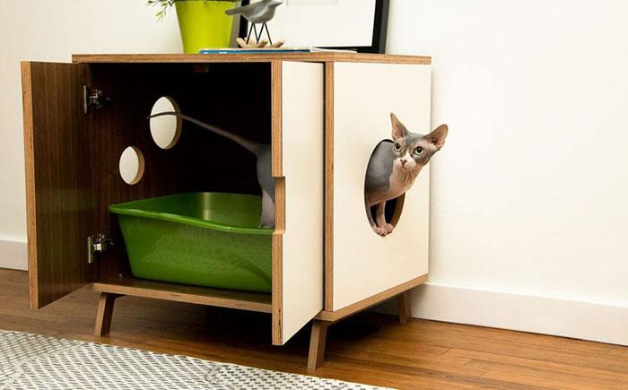 Кабинет-туалет для кота