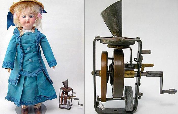 Говорящая кукла. Томас Эдисон