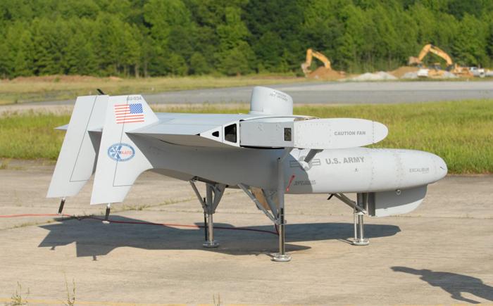 Летательный аппарат Aurora Excalibur