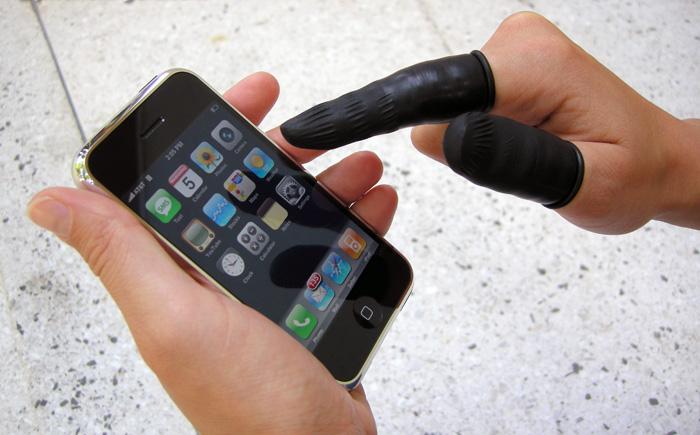 Напальчник для телефона