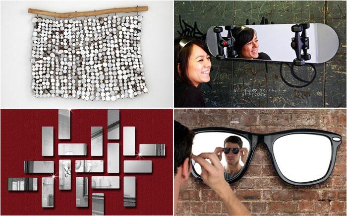 10 самых странных и необычных зеркал от современных дизайнеров