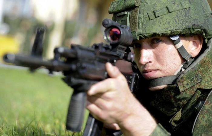 АК-12 для костюма Ратник