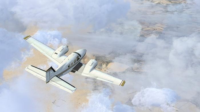 Самолеты без двигателей могут довольно долго планировать.