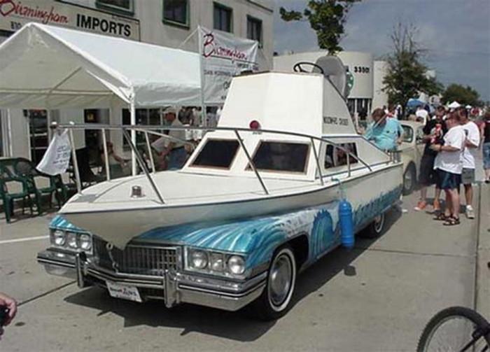 Cadillac-яхта