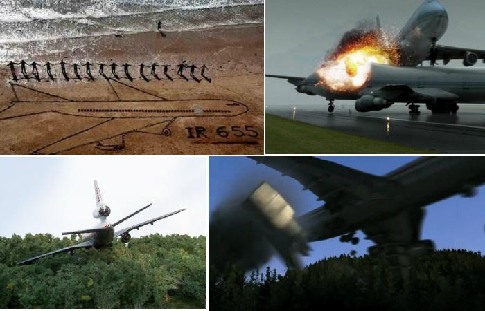 Самые масштабные авиакатастрофы.